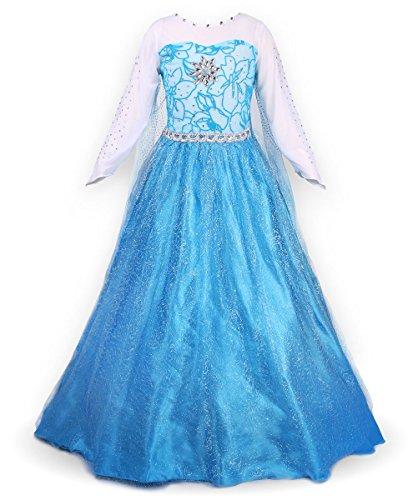Verkauf JerrisApparel Prinzessin Kleid Karneval Verkleidung Party ...