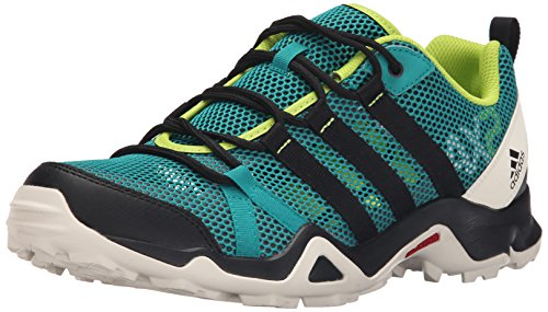 adidas Outdoor Men's AX2 Breeze Hiking Shoe, Equivalent Green/Black/Chalk White, 13 M US