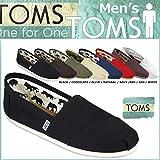 (トムズ シューズ)TOMS SHOES スリッポン CANVAS MEN'S CLASSICS キャンバス クラシック 001001A M10(約28.0cm) Black (並行輸入品) [並行輸入品]