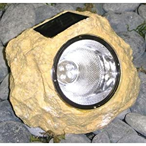 Click to buy LED Outdoor Lighting: Homebrite Solar Rock Light for Outdoor Garden & Landscape Decor from Amazon!