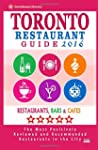 Toronto Restaurant Guide 2016: Best R...