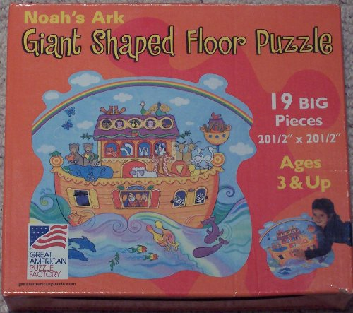 Picture of Great American Noah's Ark Giant Shaped Floor Puzzle (B0030I53X8) (Floor Puzzles)