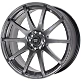 "Motegi Racing MR2747 SP10 Hyper Black Wheel With Clearcoat (15x7""/4x100, 114.3mm, +42mm offset)"