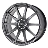 Motegi Racing SP10 (Series MR2743) Hyper Black With Clear Coat Finish - 17 X 7 Inch Wheel