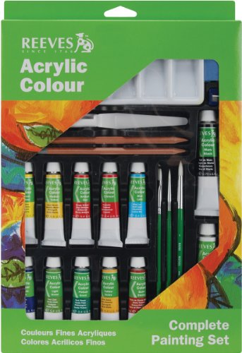 Reeves Complete Acrylic Color Painting Set