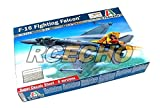 RCECHO® ITALERI Aircraft Model 1/72 F-16 Fighting Falcon Scale Hobby 1271 T1271 with RCECHO® Full Version Apps Edition