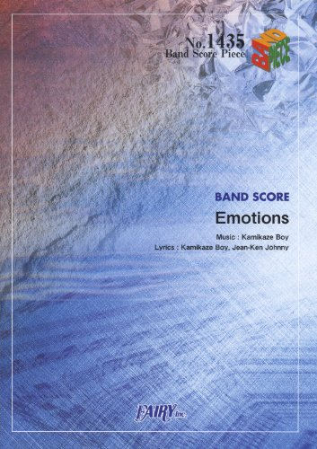 Band piece 1435 Emotions by MAN WITH A MISSION (BAND SCORE PIECE)