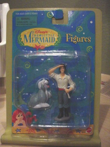 Buy Low Price Mattel The Little Mermaid – Eric and Max 3.5″ PVC Figure (B001CW8C6E)