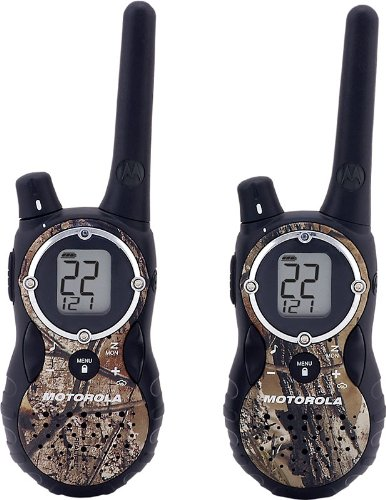 Motorola T8550r Camo Two-Way GMRS Radio