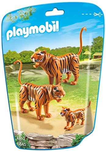 PLAYMOBIL Tiger Family Building Kit