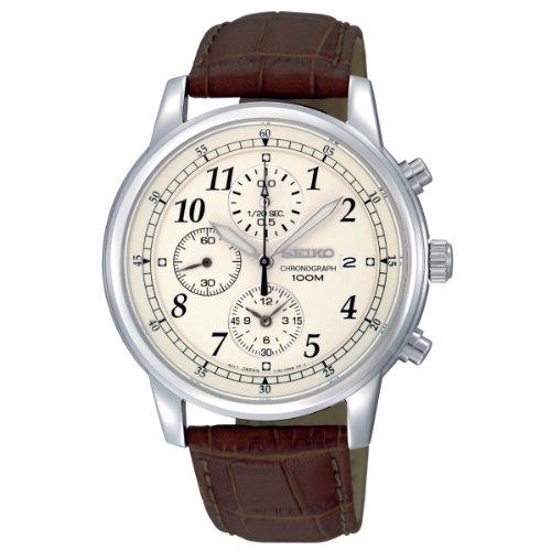 Seiko Men's Chronograph Watch SNDC31P1