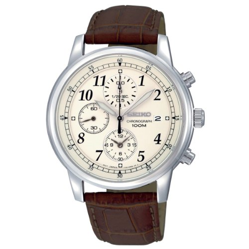 Seiko Men's Chronograph Watch SNDC31P1