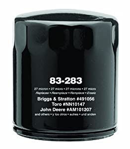 Oregon 83-283 Oil Filter Replaces John Deere AM254424 KH1205008 Kohler 12-050-01 12-050-01S