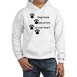 CafePress Dog Prints Hooded Sweatshirt by CafePress