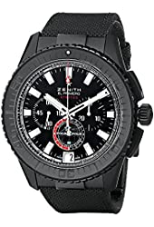 Zenith Men's 242062405.27C El Primeo Stratos Analog Display Swiss Automatic Black Watch
