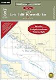 Software - Sportbootkarten Satz 08: Adria 2 (2015): Zirje - Split - Dubrovnik - Bar