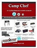 Camp Chef Folding Side Shelves LS60P - Fits Two Burner Stove Models EX60LW, EX60LWC, EX60P, EX60PP, EX60LWF, EX90LW, EX170LW, EX280LW, YK60LW, YK60LWC12, DB60D, CT32LW, EX60B, EX90LWB