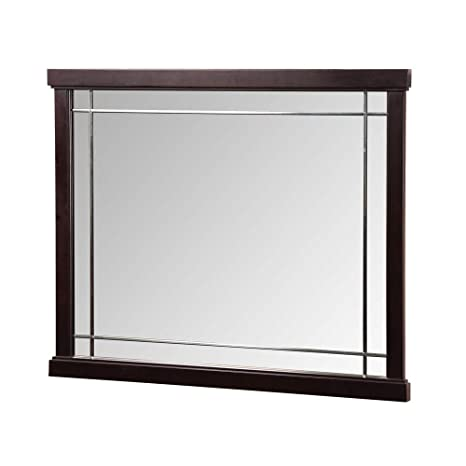 Foremost ZEEM3831 Zen Vanity Mirror, Espresso