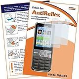 """2 x mumbi Displayschutzfolie Nokia C5 C5-00 Displayschutz """"AntiReflex"""" antireflektierend"""