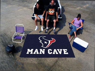 NFL - Houston Texans Man Cave UltiMat 5'x8' Rug-By BlueTECH