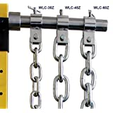 Ader Barbell Olympic Weight Lifting Chain Set (Zinc, 60lb) (Color: Zinc, Tamaño: 60lb)