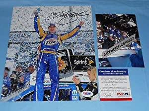 Autographed Kurt Busch Picture - Cool! 8x10 Racing Proof! - PSA DNA Certified -... by Sports Memorabilia