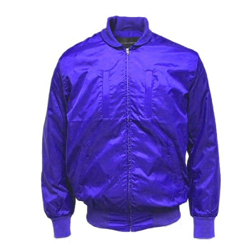 French Connection FC Men's Royale Nylon Relay Bomber Jacket Size M