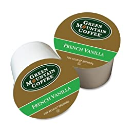 FRENCH VANILLA COFFEE K-CUPS, 96/CARTON