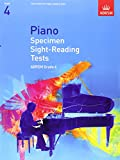 Piano Specimen Sight-Reading Tests, Grade 4 (Abrsm Sight-Reading)