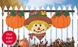 Autumn Scarecrow Hanging Fence Bunting