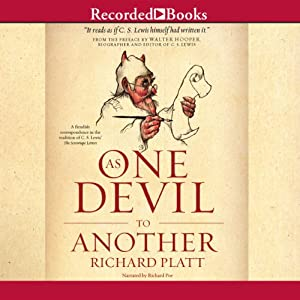 As One Devil to Another | [Richard Platt, Walter Hooper (preface)]