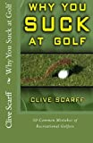 img - for Why You Suck at Golf: 50 Most Common Mistakes by Recreational Golfers book / textbook / text book
