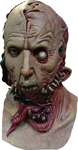 Alien Host Gory Zombie Latex Adult Halloween Costume Mask