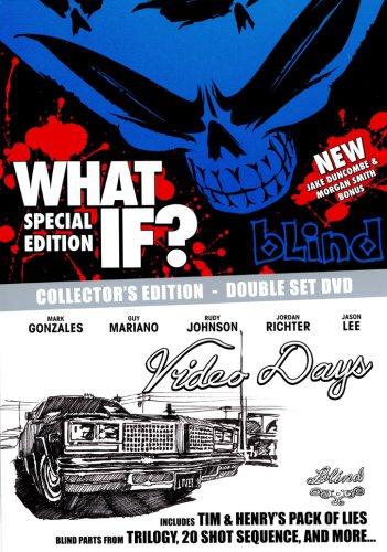 【スケートボード DVD】 BLIND DOUBLE BOX -what if / Video Days- (ブラインド・ダブル・ボックス -ホワット・イフ / ビデオ・デイズ-) 輸入版 [DVD]