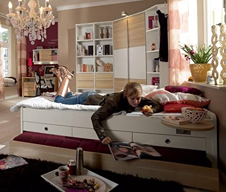 welle tamtam jugendzimmer komplett wei rosales individuell. Black Bedroom Furniture Sets. Home Design Ideas