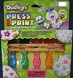 Press & Print Easter Egg Coloring Stamp Kit