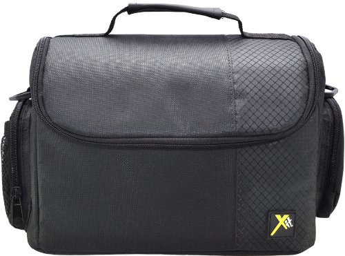 Xit XTCC3 Deluxe Digital Camera/Video Padded Carrying Case, Large (Black) (Big Camera Case compare prices)