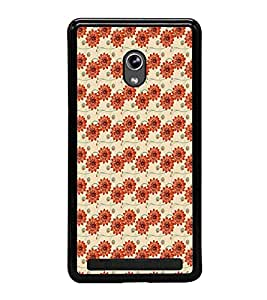 ifasho Designer Phone Back Case Cover Asus Zenfone 5 A501CG ( Pink and Brown Pattern Design )