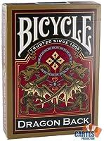 Jeu de 54 cartes : Bicycle Dragon