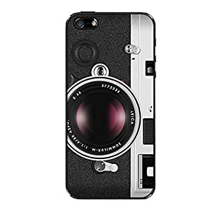 Vibhar printed case back cover for Apple iPhone 5s Leica