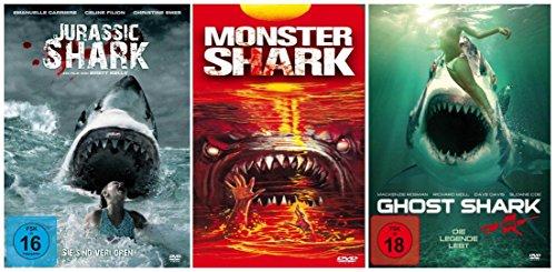 DIE HAI - COLLECTION 2 ( Ghost Shark - Monster Shark - Jurassic Shark - plus 5 Bonusfilme und 3 Dokumentationen) [5 DVDs]