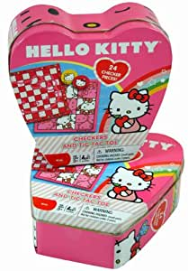 Hello Kitty Checkers Board Games