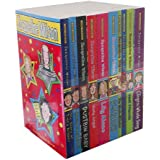 Jacqueline Wilson 10 books collection Set Pack (The Story Of Tracy Beaker, Starring Tracy Beaker, Dustbin Baby, Vicky Angel, Lily Alone, The Worst Thing About My Sister, The Mum-Minder, The Worry Wesite, Best Friends,The Longest Whale Song)