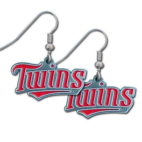 MLB Minnesota Twins Dangle Earrings