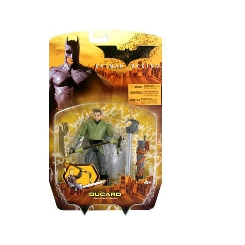 Batman Begins Ducard (Green Shirt Variant) Action Figure