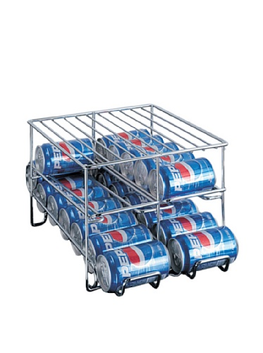 Neu Home Organize It All Chrome 24-Can Holder (Soda Can Holder Storage compare prices)