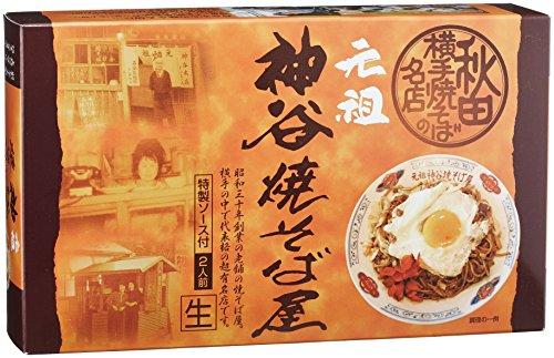 アイランド食品 横手元祖神谷焼きそば屋 300g(2食入り)