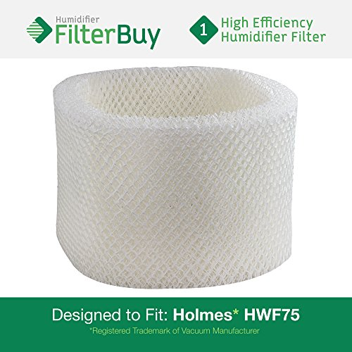 HWF72 HWF75 Holmes, Touch Point, Sunbeam Humidifier Replacement Filter. Designed by FilterBuy in the USA. (Sunbeam D Filter compare prices)