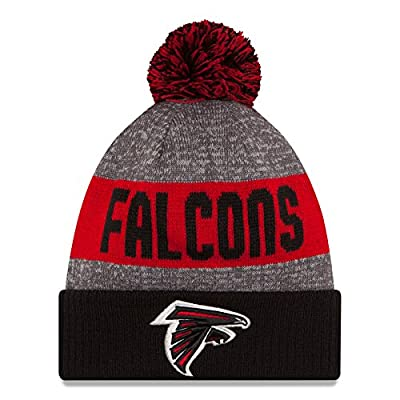 Atlanta Falcons New Era 2016 NFL Official Sideline Sport Knit Hat