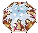 Masha y el oso niños Pantalla Stock paraguas